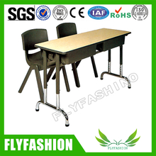 Special Design Double School Desk with Chair (SF-24D)