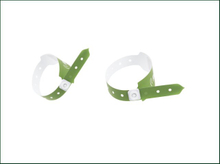 One Time Use RFID Adjustable Wristband