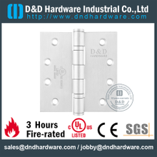 "4.5"" UL Listed Ironmongery 4BB Fire Rated Door Hinge for Wooden Door-DDSS002-FR"