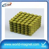 Colorful Small Ball Shaped Magnets D6mm For Hot Sale