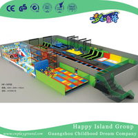 Large Indoor Commercial Children Play Trampoline Playground for Sale (HF-19705)