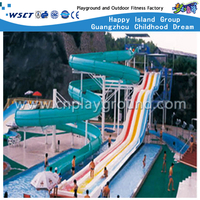 A-06804 Outdoor Water Park Kids And Adult Water Slide Equipment