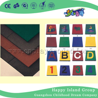 Outdoor Playground Rubber Floor Mats Playground Rubber Tiles on Stock (M11-12401)