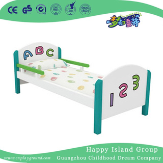 Lovely Wooden Single School Baby Bed with Letters And Numbers (HG-6308)