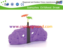 Outdoor Small Plastic Rock Climbing Wall Playgrounds (A-17203)