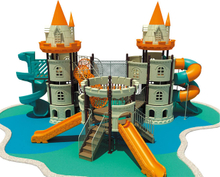 Outdoor Castle Playground Children Amusement Park Playground Equipment (HF-15802)