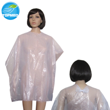 Disposable Plastic Cutting Cape