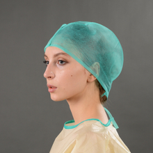 Doctor Use Disposable SBPP Doctor Cap with Tie-on