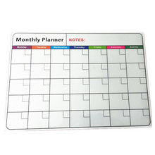 New Products Fridge Magnetic Whiteboard Roll Easy Planner With Dry Erase Magnet Calendar