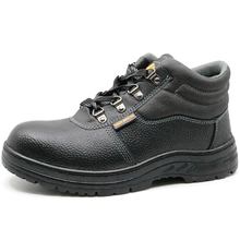 Cemented tiger master brand leather safety work shoes steel toe cap