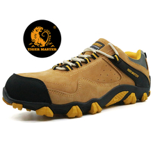 Cemented rubber sole CE steel toe cap stylish sport safety shoes work