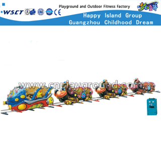 16 Seats Children Cartoon Animal Small Electric Railway Train (HD-10401)