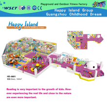 CE Approved Theme Park Soft Kids Indoor Playground for Sale(HD-8601)