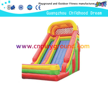Outdoor Colorful Children Play Inflatable Slide for Backyard