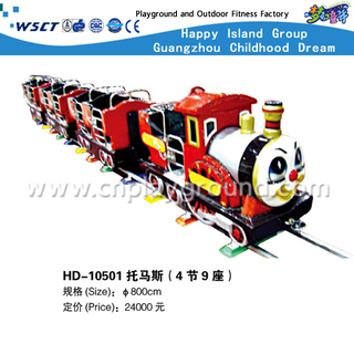 Small Electric Amusement Park Railway Train for Kids Play (HD-10501)