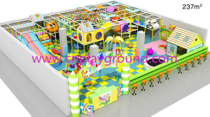 Indoor Soft Playground Kids Indoor Play Equipment for Sale (H13-60023)