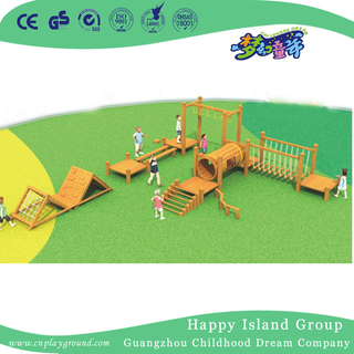 Outdoor Wooden Playground Equipment For Backyard (1908802)