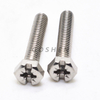 Stainless Steel Phillps Head Slotted Hexagon Bolt
