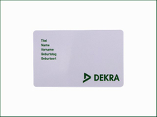 Bright Color NFC Plastic Business Card