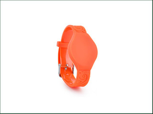 Eco-friendly Soft Woven RFID Admission Wristband