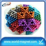 5mm Customized sphere N38 neodymium magnet