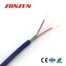 Silicone Rubber insulated Resistance Temperature Detector Cable (RTD Cable)
