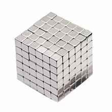 5mm Nickel Cube Magnetic block Wholesale