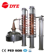 High Quality Copper Relux Column Craft Wine Gin Vodka Distillery for Sale