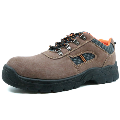 Low ankle china slip resistant sport safety shoes with steel toe