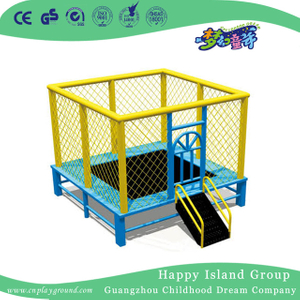 Amusement Park Square Trampoline Bed For Children Play (HF-19501)