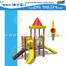 Small Outdoor Combination Galvanized Steel Sevilla Playground Equipment from China Factory (A-02101)