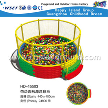 Hot Sale Round Ball Pool With Fence Playground(HD-15503)