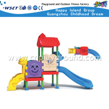 Mini Lovely Plastic Slide Playground For Toddler Play(M11-03205)
