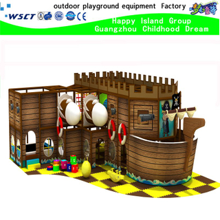 Small Indoor Pirate Ship Adventure Playground for Children (H15-6006)