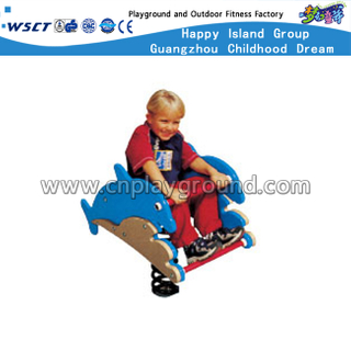 Single PVC Board Dolphin Spring Rocking Ride On Promotion(HD-15920)