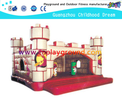 Amusement Park White Children Inflatable Bouncing Castle (A-10208)