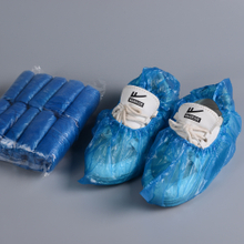 Disposable PE plastic waterproof shoe cover machine made