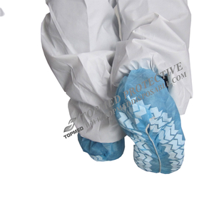Medical Disposable Nonwoven SBPP Shoe Covers with Antislip