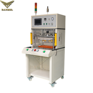 China Supplier DANREL Plastic Heat Staking Machine, Thermal Press Hot Staker for Riveting & Brass Threaded Inserting