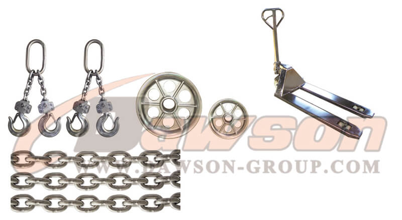 Other stainless steel lifting equipment - dawson group