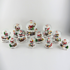 Xmas Gift Water Ball with Santa Claus inside