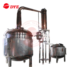 copper ethanol pot still distillation equipment