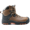 Heat resistant anti static steel toe leather safety boots for work