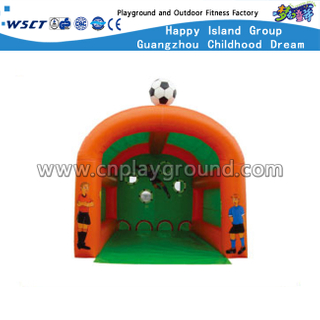 Outdoor Inflatable Sport Game Football Goal For Children Shoot (HD-10106)