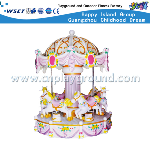 Outdoor Amusement Park Luxury Carousel Ride Series For Kids Play (HD-10701)