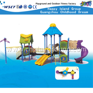 China Guangzhou GS Certified Outdoor Children Castle Galvanized Steel Playground (HA-08302)