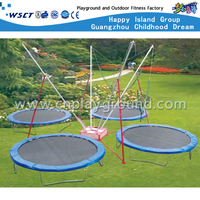 Large Adventure Jumping Trampoline Combination Playgrounds For 4 Adults (Hd-15001)