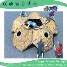 Outdoor Plastic Mound Feature Climbing Wall for Children (HF-19101)