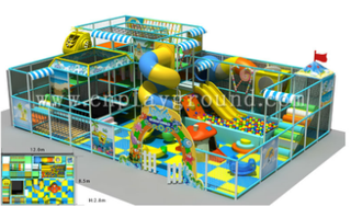 Small Indoor Ocean Naughty Castle for Sale(H13-1205)