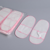 Disposable nonwoven PP slippers with toe open